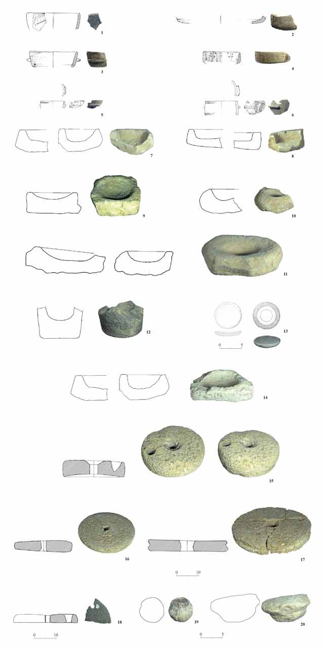 25. Stone artifacts.