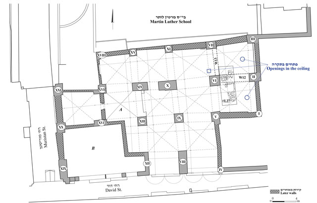 2. Plan of the hall.