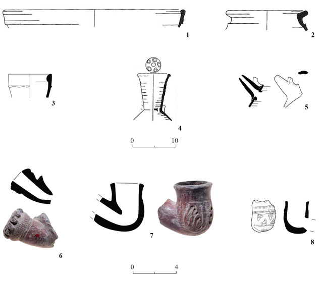 21. Pottery from Area B.