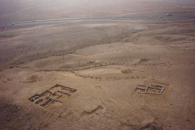 8. Area C, buildings from the Iron Age IIA.