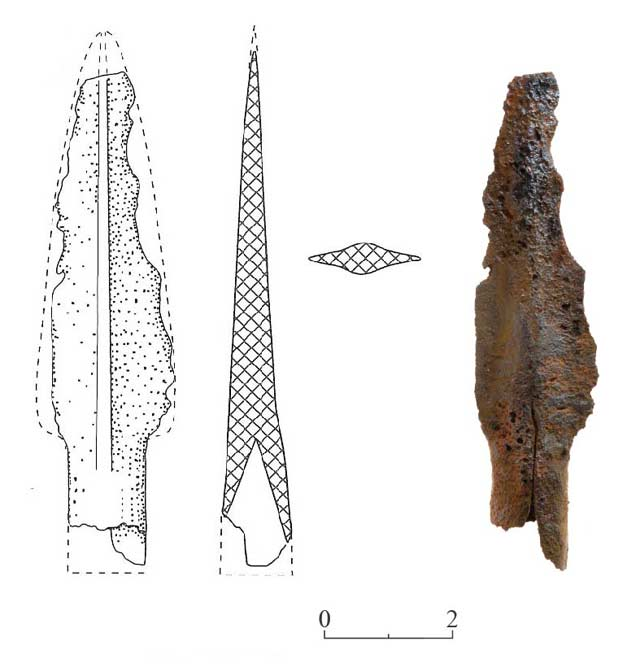 29. Socketed spearhead from Dolmen 35.