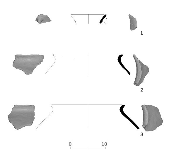 6. Pottery from Dolmen 2.